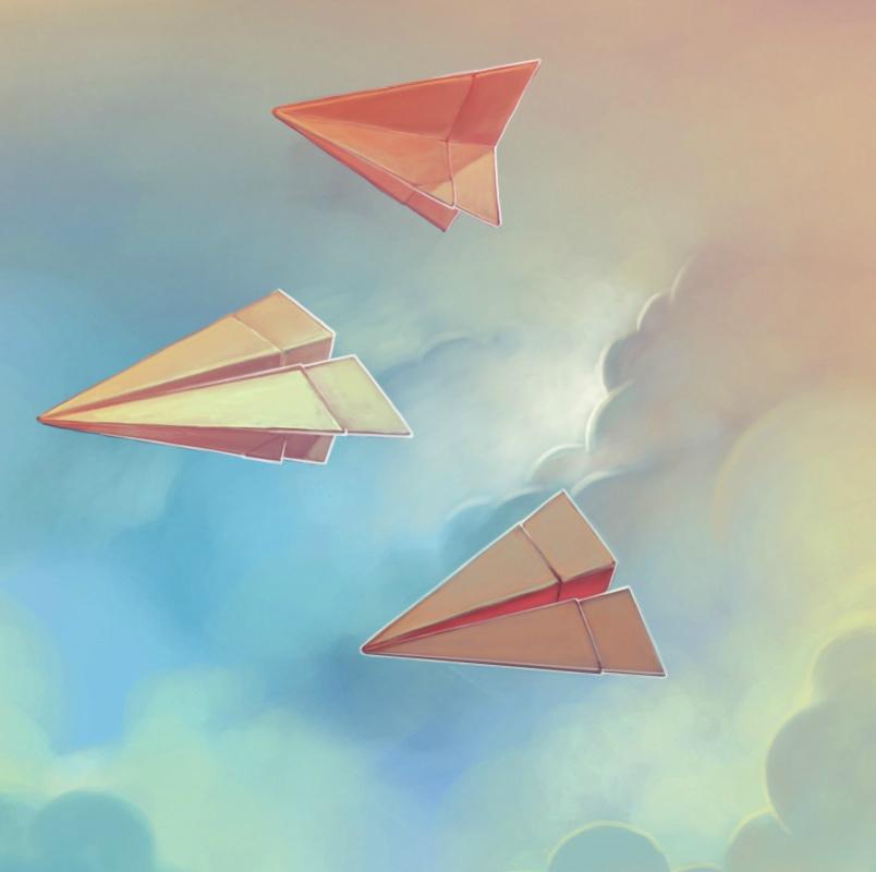 Денис Палево, AbramOne, FLober - Бумажный самолет (2019)